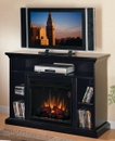 "Classic Flame Beverly 23MM374-E451 TV Stand with Electrical Fireplace up to 48"" TVs. ClassicFlame-23MM374-E451"