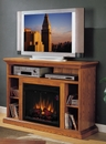"Classic Flame Beverly 23MM374-O107 TV Stand with Electrical Fireplace up to 48"" TVs. ClassicFlame-23MM374-O107"
