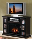 "Classic Flame Anaheim 23MM705-E451 TV Stand with Electrical Fireplace up to 47"" TVs. ClassicFlame-23MM705-E451"