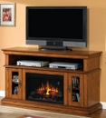 "Classic Flame Brookfield 26MM2209-O107 TV Stand with Electrical Fireplace up to 60"" TVs. ClassicFlame-26MM2209-O107"