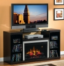 "Classic Flame Captiva 26MM8404-E451 TV Stand with Electrical Fireplace up to 56"" TVs. ClassicFlame-26MM8404-E451"