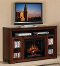 "Classic Flame Santa Monica 28MM708-C232 TV Stand with Electrical Fireplace up to 64"" TVs. ClassicFlame-28MM708-C232"