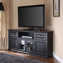 "Crosley CF1000260-BK - 60"" Corner TV Stand in Black color. crosley-CF100260-BK"