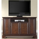 "Crosley Furniture KF10001BMA LaFayette 60"" TV Stand in Vintage Mahogany Finish. Crosley-KF10001BMA-AKS42"