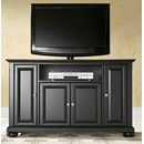 "Crosley Furniture KF10002ABK Alexandria 48"" TV Stand in Black Finish. Crosley-KF10002ABK-AKS42"