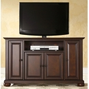 "Crosley Furniture KF10002AMA Alexandria 48"" TV Stand in Vintage Mahogany Finish. Crosley-KF10002AMA-AKS42"