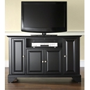 "Crosley Furniture KF10002BBK LaFayette 48"" TV Stand in Black Finish. Crosley-KF10002BBK-AKS42"