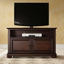 "Crosley Furniture KF10003AMA Alexandria 42"" TV Stand in Vintage Mahogany Finish Crosley-KF10003AMA-AKS42"