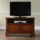 "Crosley Furniture KF10003BCH LaFayette 42"" TV Stand in Classic Cherry Finish. Crosley-KF10003BCH-AKS42"