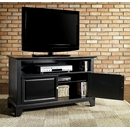 "Crosley Furniture KF10003CBK Newport 42"" TV Stand in Black Finish. Crosley-KF10003CBK-AKS42"