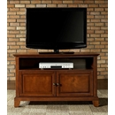 "Crosley Furniture KF10003CCH Newport 42"" TV Stand in Classic Cherry Finish. Crosley-KF10003CCH-AKS42"