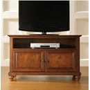 "Crosley Furniture KF10003DCH Cambridge 42"" TV Stand in Classic Cherry Finish. Crosley-KF10003DCH-AKS42"