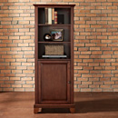 "Crosley KF11002CMA Newport 60"" Audio Pier in Vintage Mahogany color. Crosley-KF11002CMA"