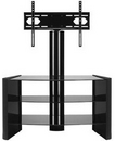 "OmniMount Verona 47FP for 37""- 47"" Flat Panel TV Stand with Black Shelves. OMNI-HTF-VS-47FP"