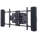 Sanus XAS1A Universal Side Speaker Mount to hold flat-panel speakers Sanus-XAS1A-AKS