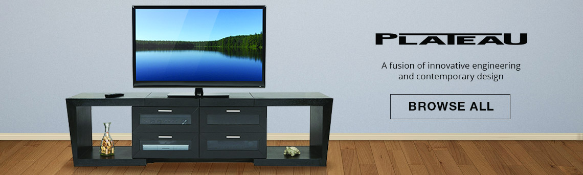 Plateau TV Cabinets and Speaker Stands