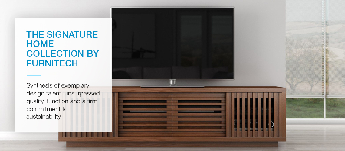 Furnitech TV Stands and Media Storage Cabinets