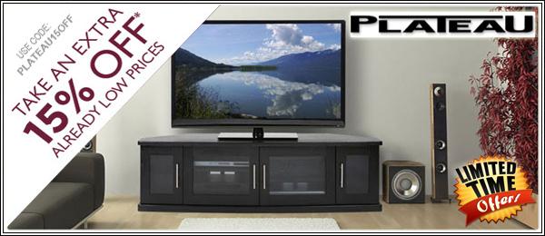 Plateau TV Stands on Sale
