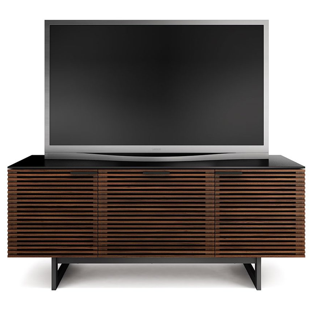 Bdi Corridor 8177 Tv Stand Up To 70 Quot Tvs In Chocolate