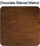 Chocolate Stained Walnut