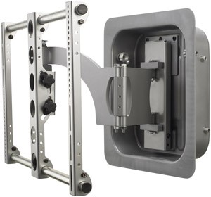 Large Full Motion Mount (Silver)