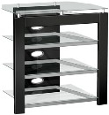 Monaco Series TV Stand (Black)