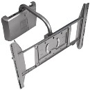 "50""-83"" Articulating Wall Mount (Silver)"