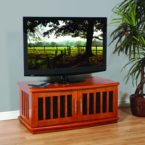 Plateau Lsx D 42 W Tv Stand Up To 48 Tvs In Walnut Finish