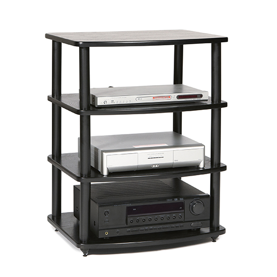 Plateau SE-A4 - 4 Shelf Audio Rack PLATEAU-SE-A4