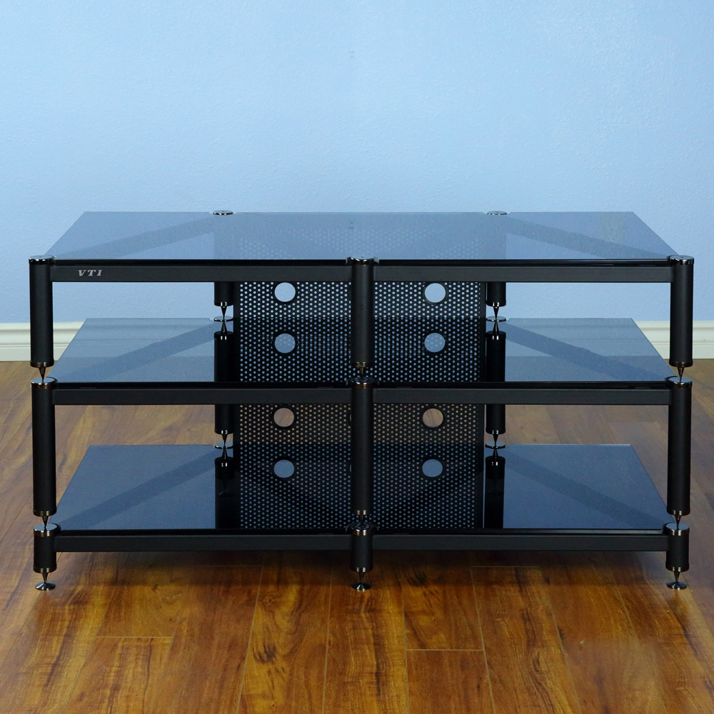 Vti Blg503 Series 3 Shelf Audio Rack Tv Stand Up To 55