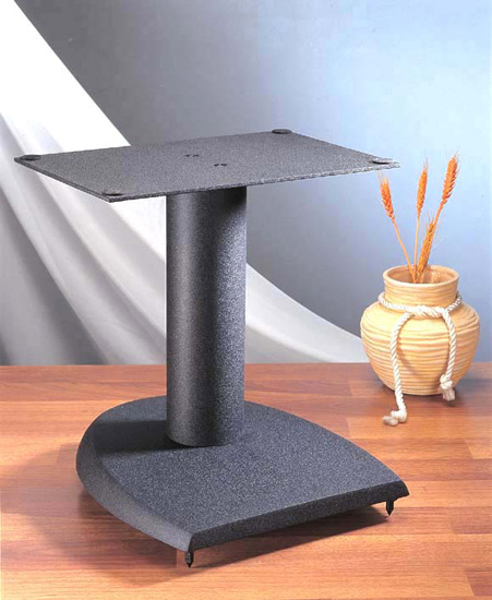 VTI DFC 13 Height Center Speaker Stand in Black Color.