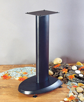 "VTI VSP29B - 29"" Height Speaker Stands in Black color. VTI-VSP29B"