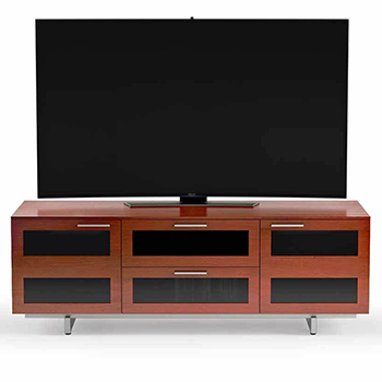 "BDI Avion 8927 TV Stand up to 75"" TVs Natural Stained Cherry Color. BDI-Avion-8927-Cherry"