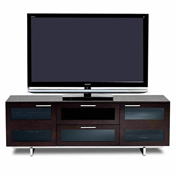 "BDI Avion 8927 TV Stand up to 75"" TVs Espresso Stained Oak Color. BDI-Avion-8927-Espresso"