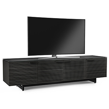 "BDI Corridor 8173 TV Stand up to 85"" TVs in Charcoal Stained Ash BDI-Corridor-8173-Charcoal"