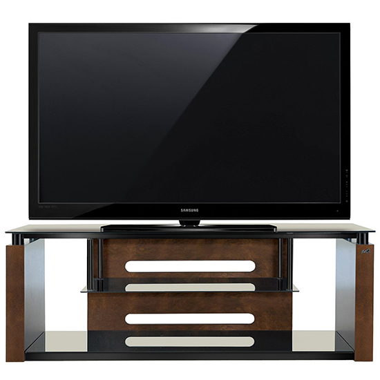 Bello AVSC2155 TV Stand in Espresso Finish up to 65