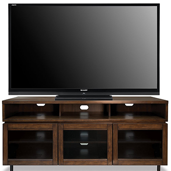 "Bello PR45 TV Stand up to 70"" TVs in Cocoa Finish. Bello-PR45"