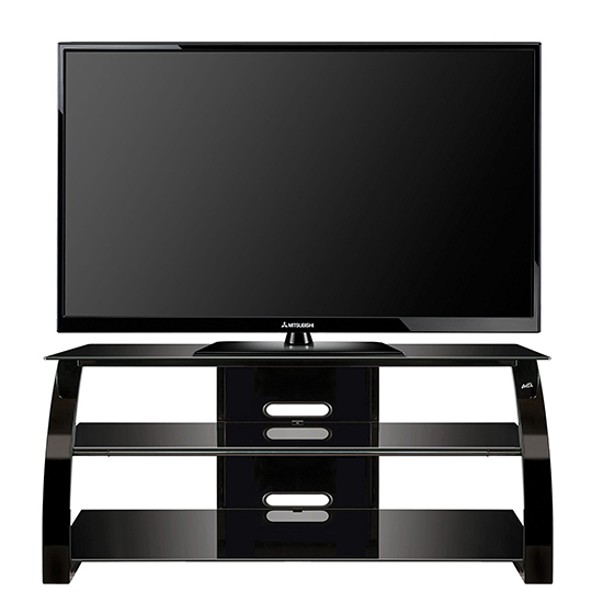 Bello Pvs 4206hg Curved Wood Tv Stand Up To 55 Tvs In High Gloss