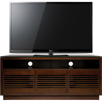 "Bello WMFC602 TV Stand up to 70"" TVs in Chocolate finish. Bello-WMFC602"