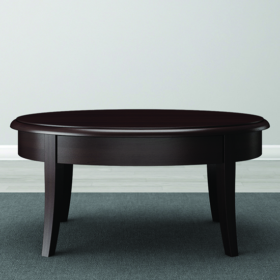 Modern Wood Finish Coffee Table: Furnitech FT40CK Classic Modern Coffee Table In Wenge