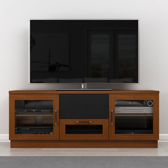 Furnitech FT60CCLC Contemporary TV Stand Media Console Up to 65