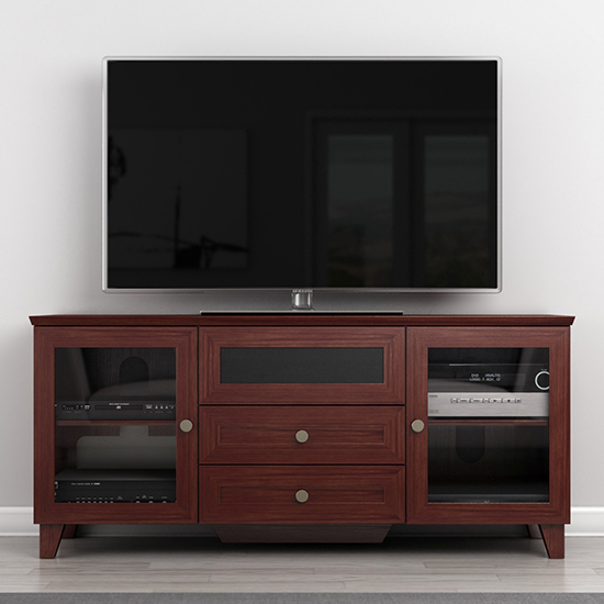 Furnitech FT61SC Corner TV Stand up to 60