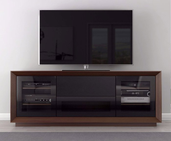 Furnitech Signature Home FT70CF TV Stand Media Console up to 80
