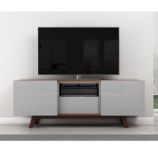 Furnitech FT70R TV Stand Media Console for Flat Screen up to 73