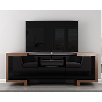 "Furnitech FT75FA Modern TV Stand Media Console up to 82"" Flat Screen TVs. Furnitech-FT75FA"