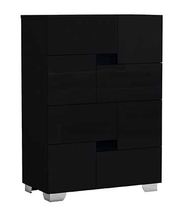 Global United Aria - Chest in Black Color.