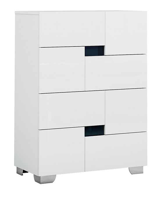 Global United Aria - Chest in White Color.