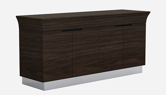 Global United D832 - Buffet in Wenge Color.