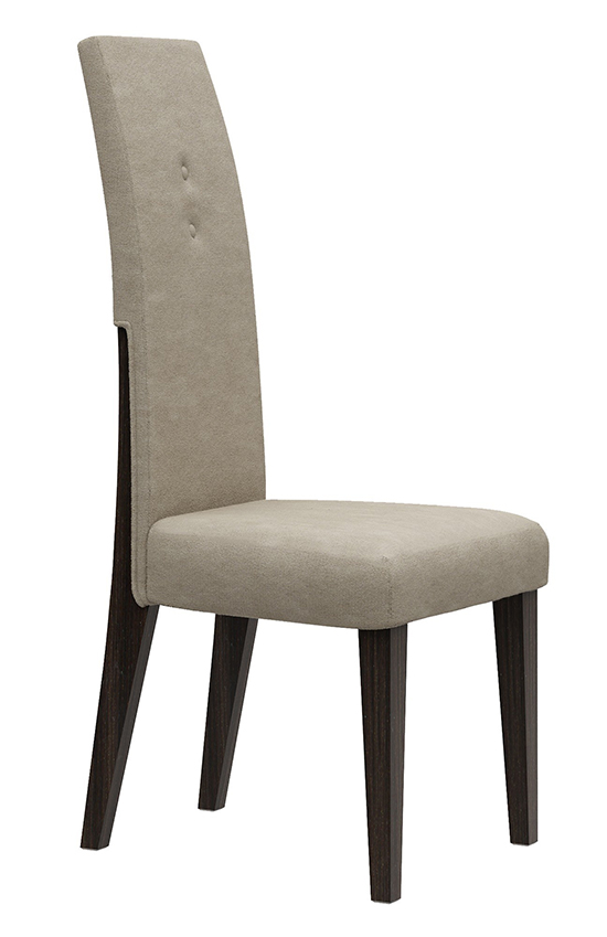 Global United D832 - Dining Chair in Wenge Color.