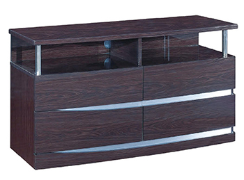 Global United Wynn - TV Entertainment Unit in Wenge Color.